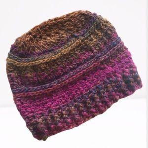 Handmade hat mohair blend